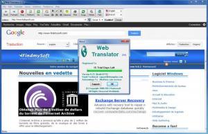 Enlarge Web Translator Screenshot