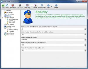 Enlarge Email Privacy Screenshot