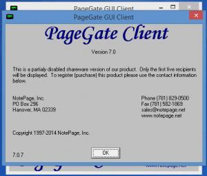 Enlarge PageGate Screenshot