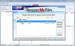 Enlarge Recover My Files Screenshot