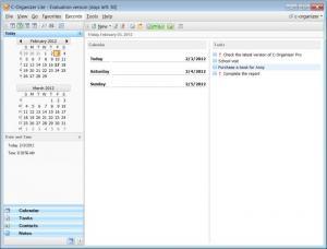 Enlarge C-Organizer Lite Screenshot
