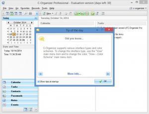Enlarge C-Organizer Pro Screenshot