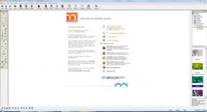 Enlarge DeskTop Author Screenshot