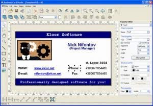 Enlarge Business Card Studio Screenshot