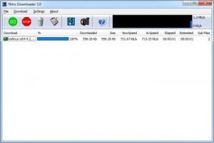 Enlarge Nitro Downloader Screenshot
