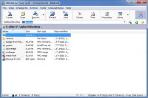 Enlarge WinAce Screenshot