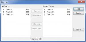 Enlarge OrangeCD Player Screenshot