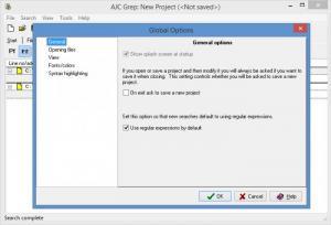 Enlarge AJC Grep Screenshot