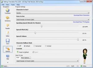 Enlarge Talking Translator Pro Screenshot