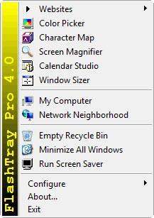 Enlarge FlashTray Pro Screenshot