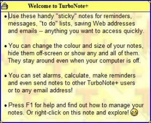 Enlarge TurboNote+ Screenshot