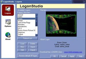Enlarge LogonStudio Screenshot