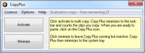 Enlarge CopyPlus Screenshot