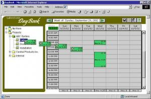 Enlarge DayBook Screenshot