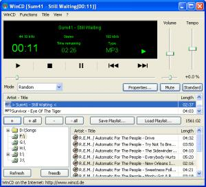 Enlarge WinCD Screenshot