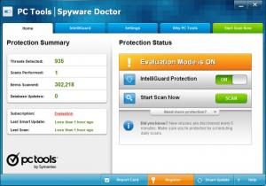 Enlarge Spyware Doctor Screenshot