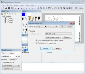 Enlarge Springboard Screenshot