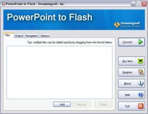 Enlarge PowerPoint to Flash Screenshot