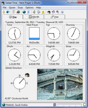 Enlarge Salaat Time Screenshot