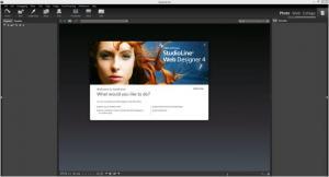 Enlarge StudioLine Web Designer Screenshot