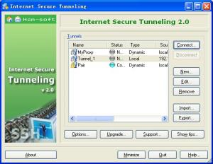 Enlarge Internet Secure Tunneling Screenshot
