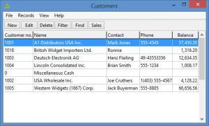 Enlarge BS1 Enterprise Accounting Screenshot