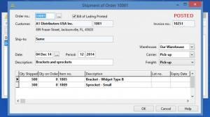 Enlarge BS1 Enterprise Accounting Screenshot