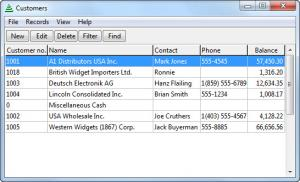Enlarge BS1 Accounting Screenshot