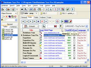 Enlarge Database Tour Pro Screenshot
