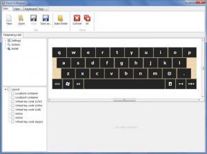 Enlarge Touch-It - Virtual keyboard Screenshot