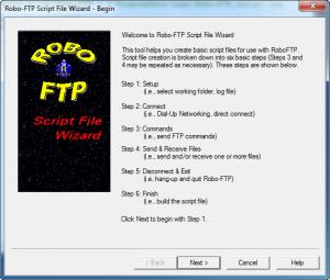 Enlarge Robo-FTP Screenshot