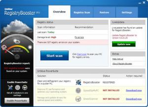 Enlarge RegistryBooster Screenshot