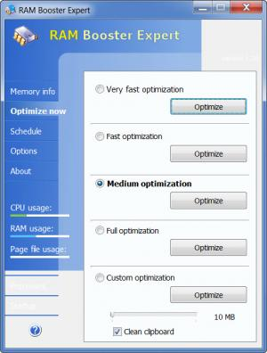 Enlarge RAM Booster Expert Screenshot