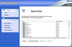 Enlarge GhostSurf Screenshot