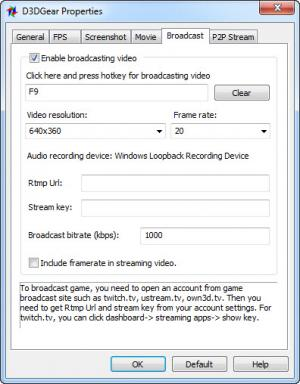 Enlarge D3DGear Screenshot