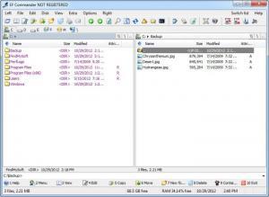 Enlarge EF Commander Screenshot