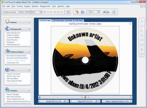 Enlarge SureThing CD/DVD Labeler Screenshot