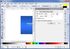 Enlarge Inkscape Screenshot