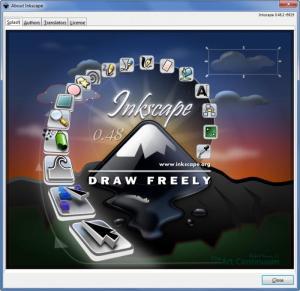 Enlarge Inkscape Screenshot