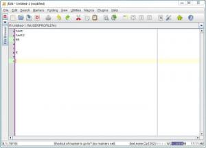 Enlarge jEdit Screenshot