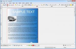 Enlarge Scribus Screenshot