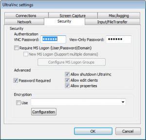 Enlarge UltraVNC Screenshot