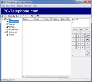 Enlarge PC-Telephone Screenshot
