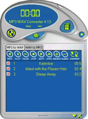 Enlarge MP3 Converter Screenshot