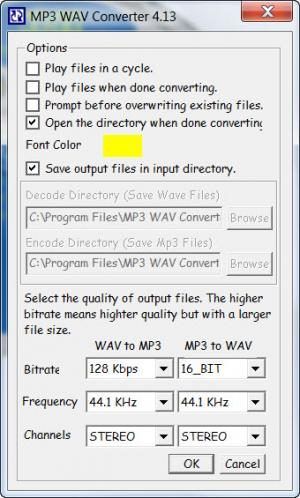Enlarge MP3 Converter Screenshot