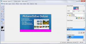 Enlarge PixBuilder Studio Screenshot
