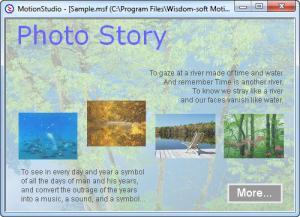Enlarge Motion Studio Screenshot