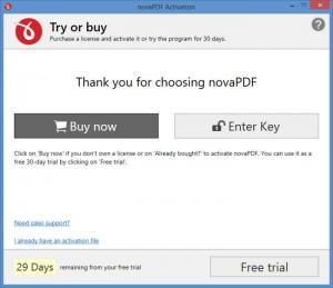 Enlarge novaPDF Lite Screenshot