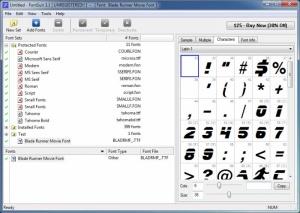 Enlarge FontSuit Screenshot