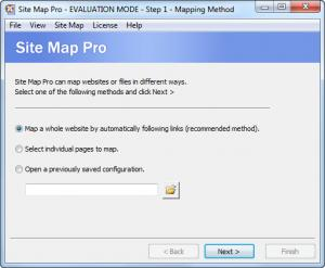 Enlarge Site Map Pro Screenshot